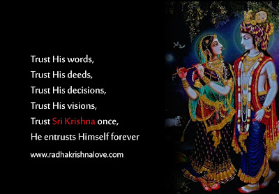 Lord Krishna Quotes Endearing Radha Krishna Love Quotes In Hindi With Images  Radha Krishna Love