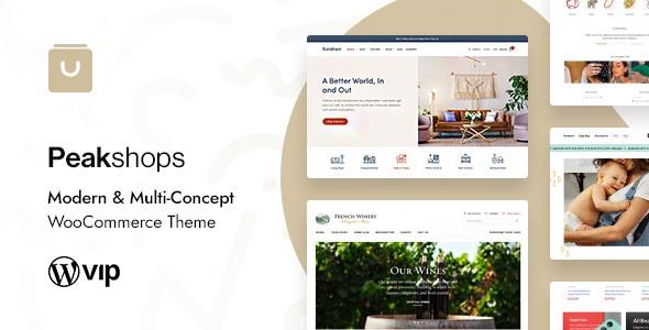 PeakShops WooCommerce WordPress Theme