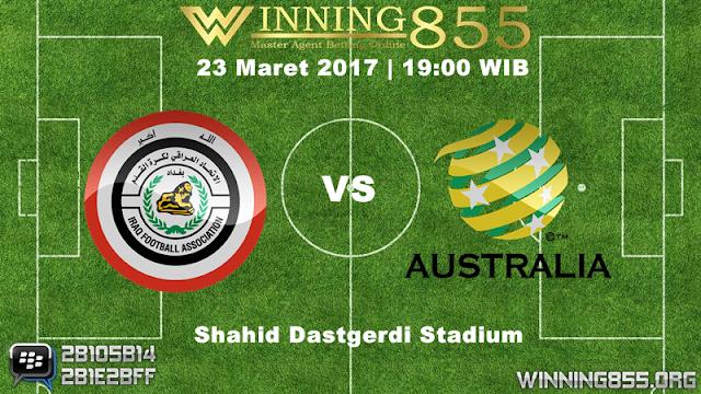 Prediksi Skor Irak vs Australia 23 Maret 2017