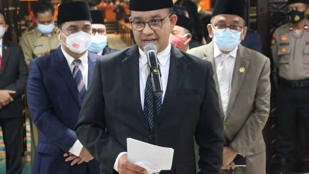 Empat Kali Beruntun Laporan Keuangan Dapat Opini WTP dari BPK, Anies: Alhamdulillah...