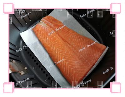 Air Fry Recipe Salmon