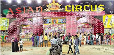Asiad Circus in bhopal, Asiad Circus at Bhopal Details