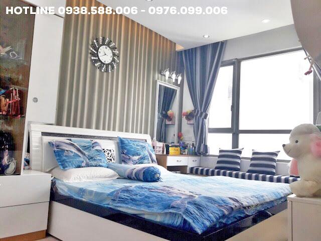 Phòng ngủ, đón ánh sáng tự nhiên, bán căn hộ Riviera Point quận 7.