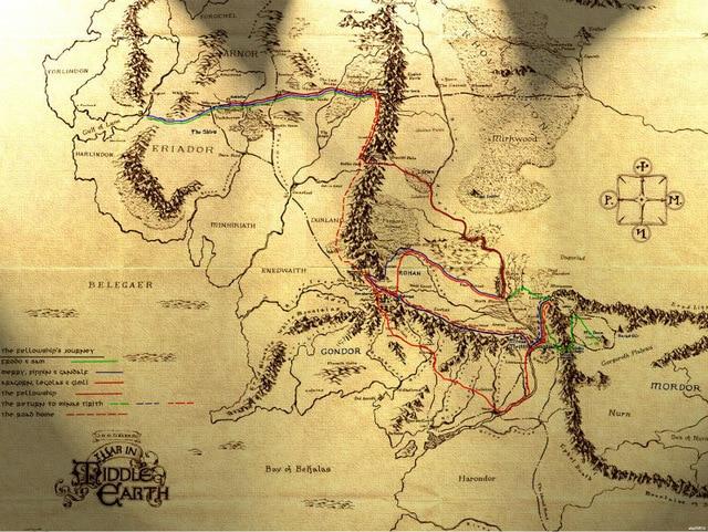 Orta Dünya Mitolojisi