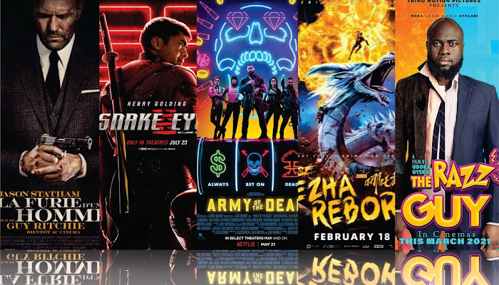 ---- TOP RATED MOVIES 2021 -----