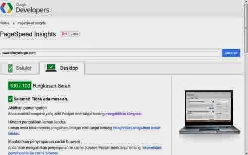 optimasi speed blog wordpress