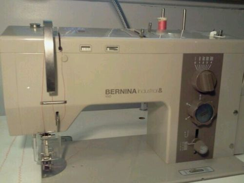 VINTAGE SEWING MACHINES Bernina Commercial X40 Industrial X40 New Bernina 1000 Special Sewing Machine Manual