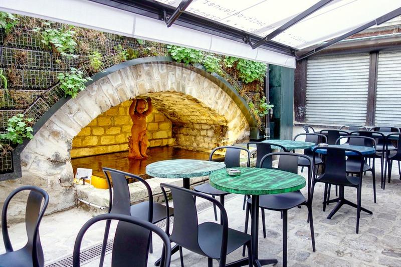 Mes adresses marcello caff ristorante cocktail bar for Restaurant avec patio paris