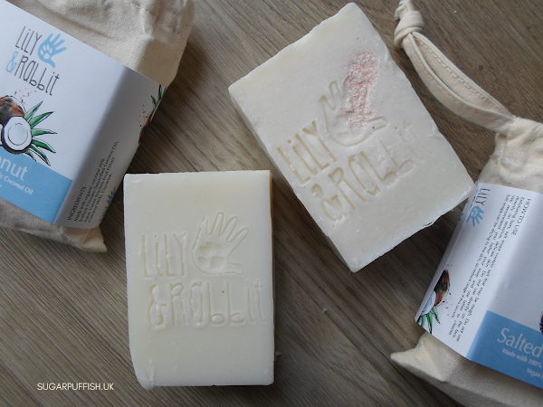 Review Lily & Rabbit Coconut and Salted Coconut Soaps