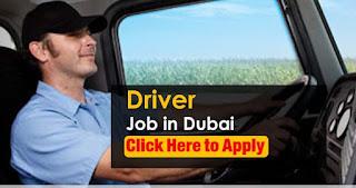 Company Driver Jobs Recruitment in Dubai | Salary AED 2501-3000