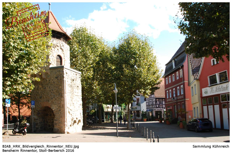 Am Rinnentor Bensheim, Stoll-Berberich 2016