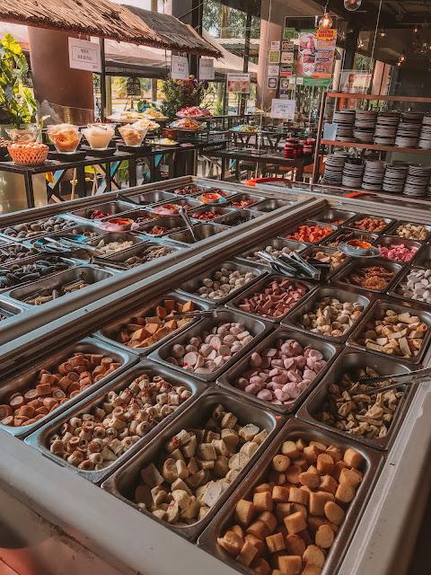 Pilihan makanan D'Kayangan Steamboat BBQ Buffet Tempat Makan Stimbot Sedap Di Shah Alam