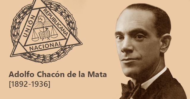 Adolfo Chacón de la Mata [1892-1936]