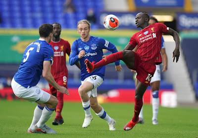 ملخص واهداف مباراة ليفربول ضد ايفرتون (0-0) في الدوري الانجليزي