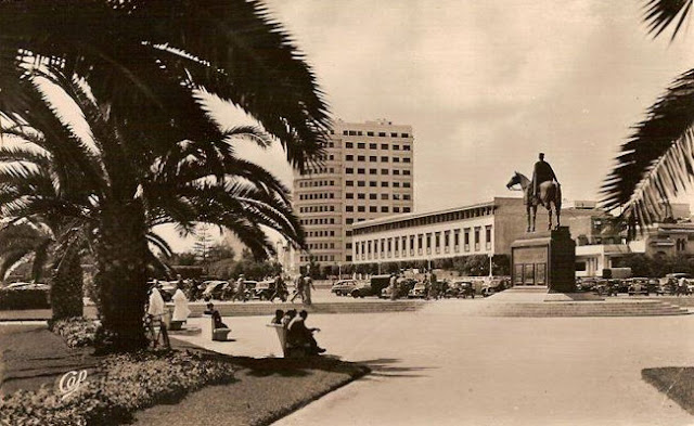 صورة من الدار البيضاء 1955 Casablanca 1955