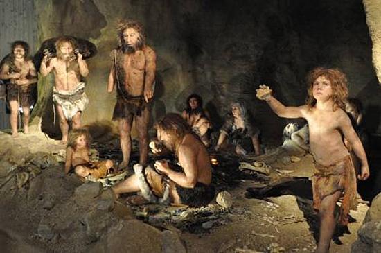 Tribo de Homens das Cavernas