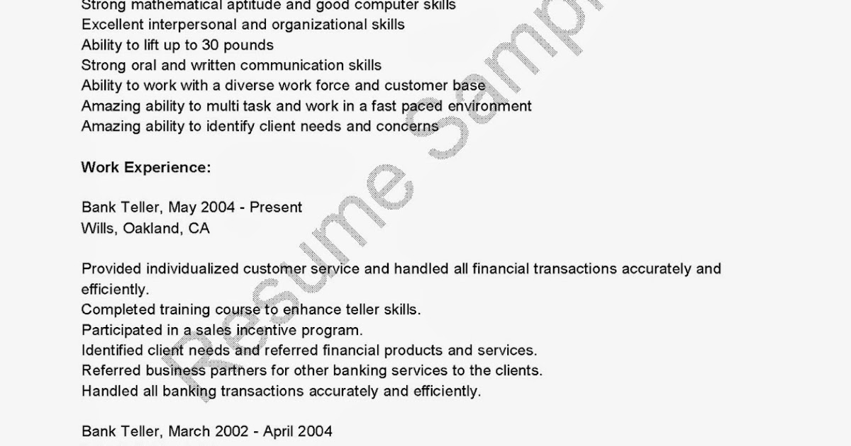 financial institution resume objective professional resumes