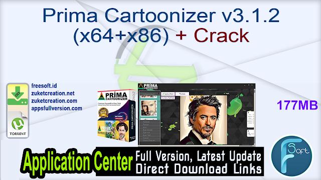 Prima Cartoonizer v3.1.2 (x64+x86) + Crack