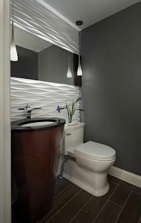 diseño baño pequeño moderno