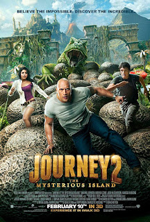 Journey 2: The Mysterious Island 2012 Dual Audio Hindi 720p BRRip 750MB