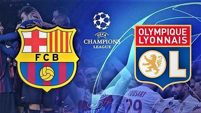 تردد القنوات المفتوحة الناقلة لمباراة برشلونة وليون مجانا اليوم في دوري الأبطال| تفاصيل مباراة برشلونة اليوم ضد ليون في الإياب