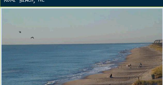Kure Beach Nc Webcam In Hd Serenity Live
