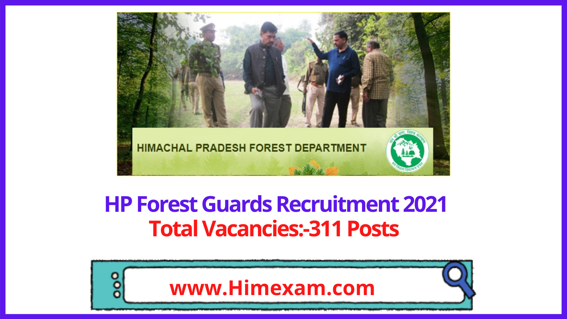 HP Forest Guards Recruitment 2021