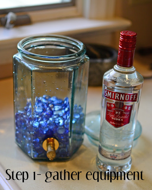 Adventures In Parenthood: Recipe :: Pineapple Infused Vodka