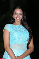 Pujita Ponnada in transparent sky blue dress at Darshakudu pre release ~  Exclusive Celebrities Galleries 102.JPG