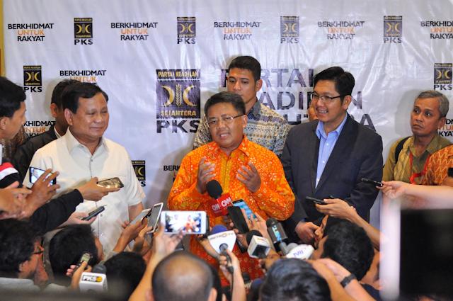 Presiden PKS : Demo 4 November Murni dari Masyarakat
