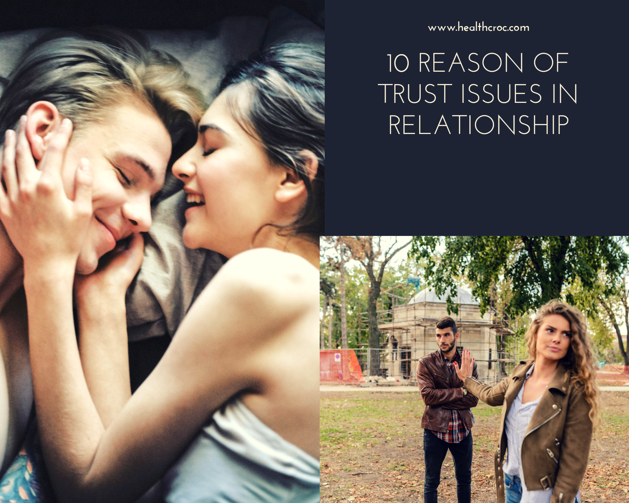 why you have trust issues in relationship