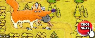 Chơi game cáo già đi săn