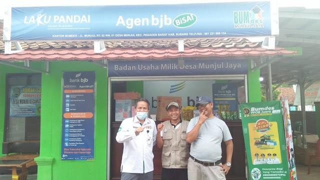 Memberikan Kemudahan Wajib Pajak Bermotor, P3D Subang Bekerjasama Dengan BUMdes