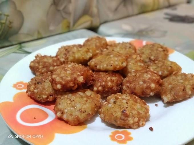 How to make sabudana vada at home | Sabudana recipe |