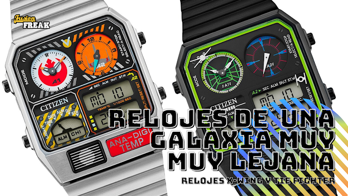 Espectaculares relojes retros digitales basados en el X-Win y TIE Fighter