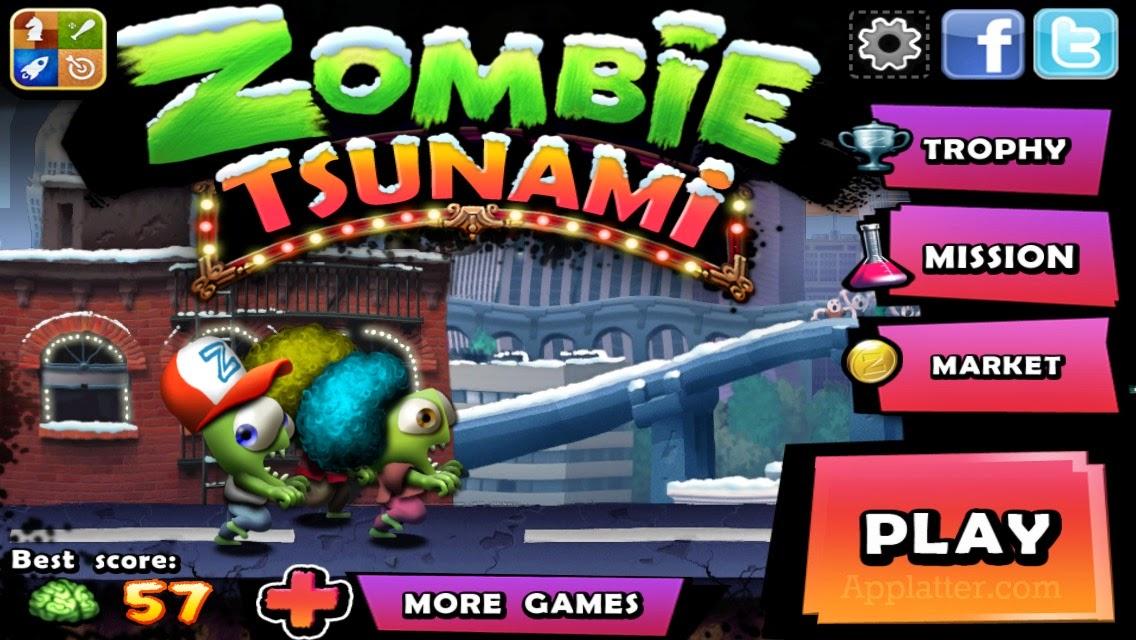 Trucos Juego Zombie Tsunami Jugar En Pc Y Monedas Infinitas Los