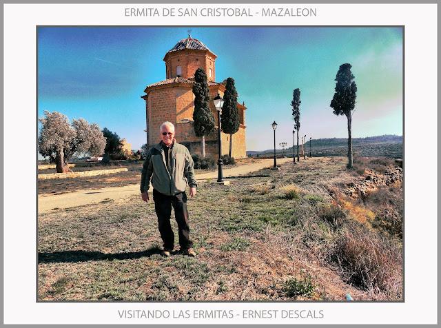 MAZALEON-ERMITAS-ERMITA-SAN CRISTOBAL-RUTAS-PEREGRINACION-FOTOS-PAISAJES-ARTISTA-PINTOR-ERNEST DESCALS-