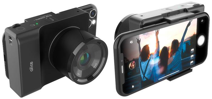 Alice Camera вместе со смартфоном