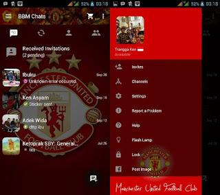 BBM Tema Manchester United