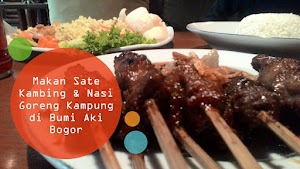 Kuliner Sunda: Makan-Makan Sate Kambing Dan Nasi Goreng Kampung Khas Bumi Aki Bareng Temen Di Restoran Sunda Bumi Aki Bogor