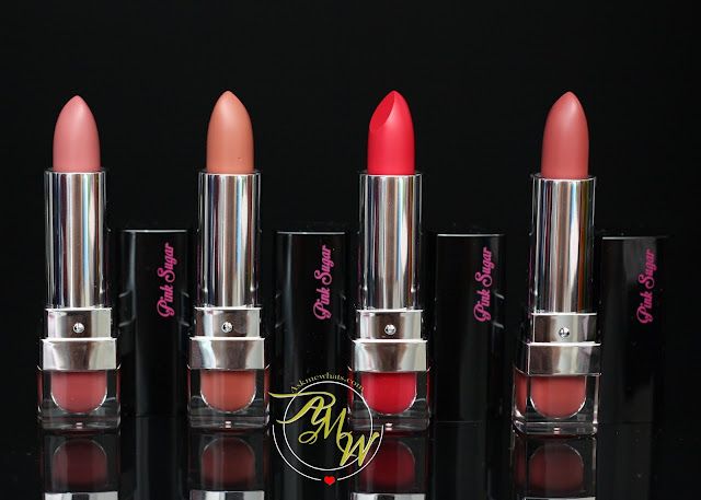 a photo of Pink Sugar Creamy Matte Lipsticks