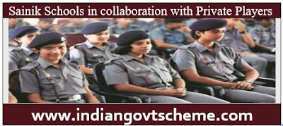 Sainik Schools in collaboration