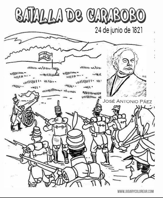 Batalla de Carabobo Venezuela