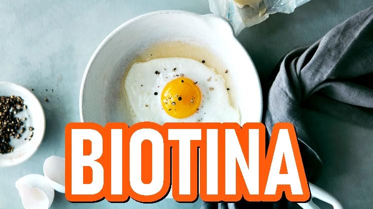 10 alimentos principales ricos en biotina
