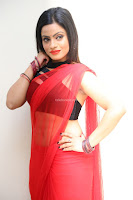 Aasma Syed in Red Saree Sleeveless Black Choli Spicy Pics ~  Exclusive Celebrities Galleries 081.jpg
