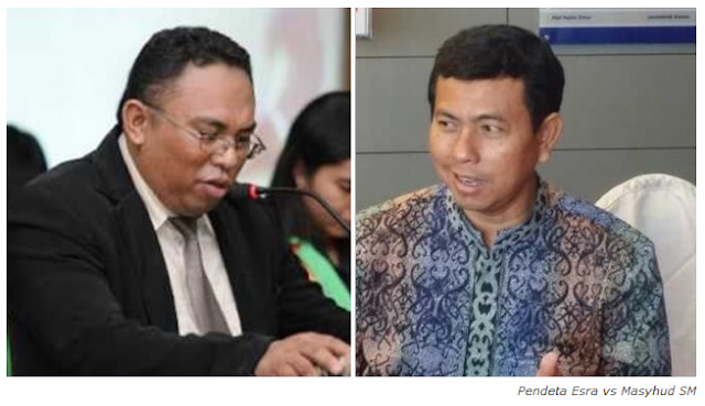 Sesumbar Menantang Debat Terbuka Dr. Zakir Naik, TERNYATA Pendeta Esra Alfred Soru Pernah Keok Lawan Kristolog Lokal Asal Surabaya