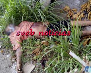 Arrojan cuerpo en terreno baldio en Tampico Tamaulipas