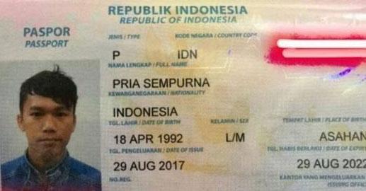Paspor pria sempurna