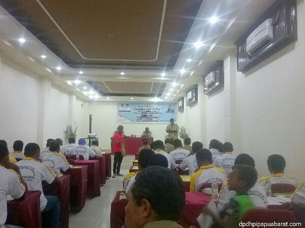 DPD Himpunan Pramuwisata Indonesia Provinsi Papua Barat dan Kelompok Sadar Wisata se-Kabupaten Manokwari