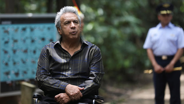 """Moreno dice que no le asombraría """"que haya gente de las FARC"""" en las protestas en Ecuador"""